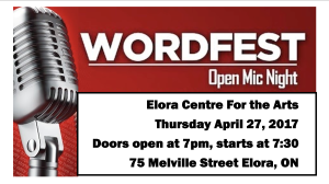 WordFest Elora FB Event