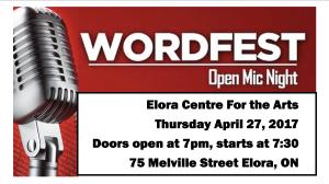 WordFest Elora FB Event